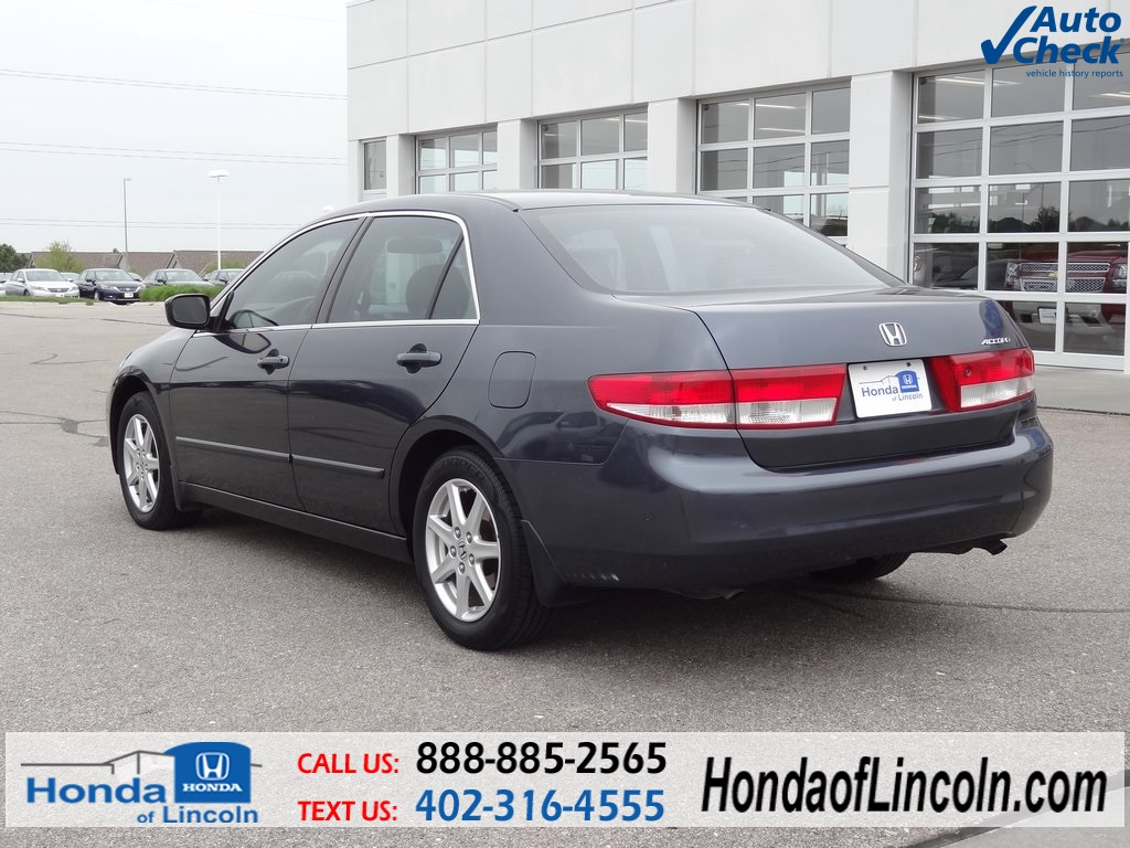 used 2003 honda accord ex l 4d sedan near omaha d2035a. Black Bedroom Furniture Sets. Home Design Ideas