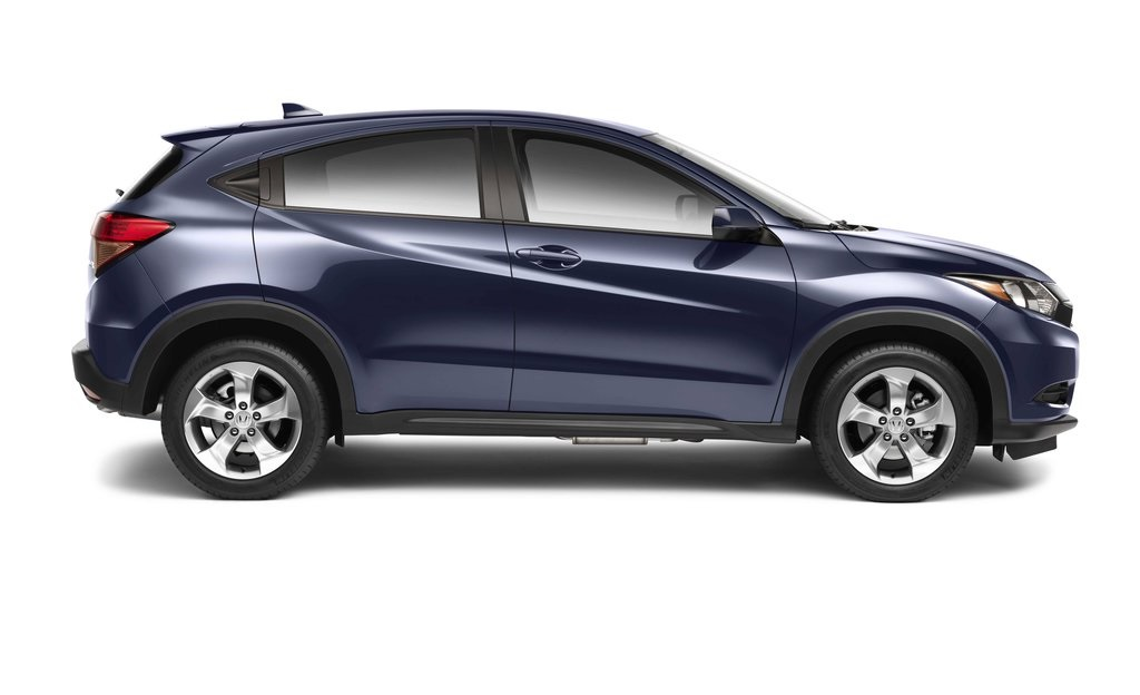 new 2016 honda hr v lx cvt hatchback 4 dr near omaha e1001 honda of lincoln. Black Bedroom Furniture Sets. Home Design Ideas