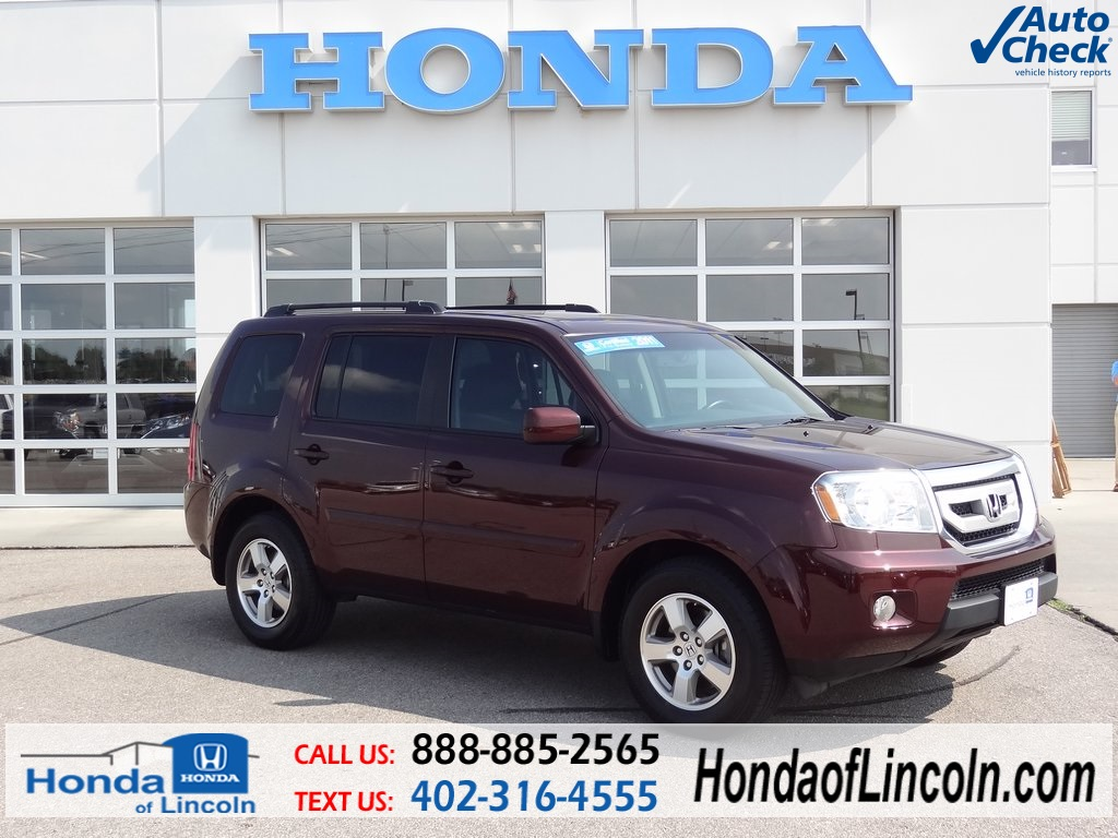 Certified used 2011 honda pilot ex l 4d sport utility near for Certified pre owned honda pilot 2016