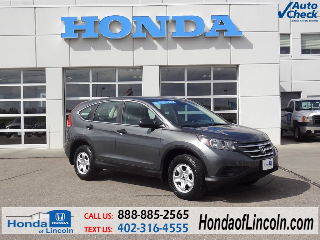 certified used 2014 honda cr v lx 4d sport utility near omaha t6751a honda of lincoln. Black Bedroom Furniture Sets. Home Design Ideas