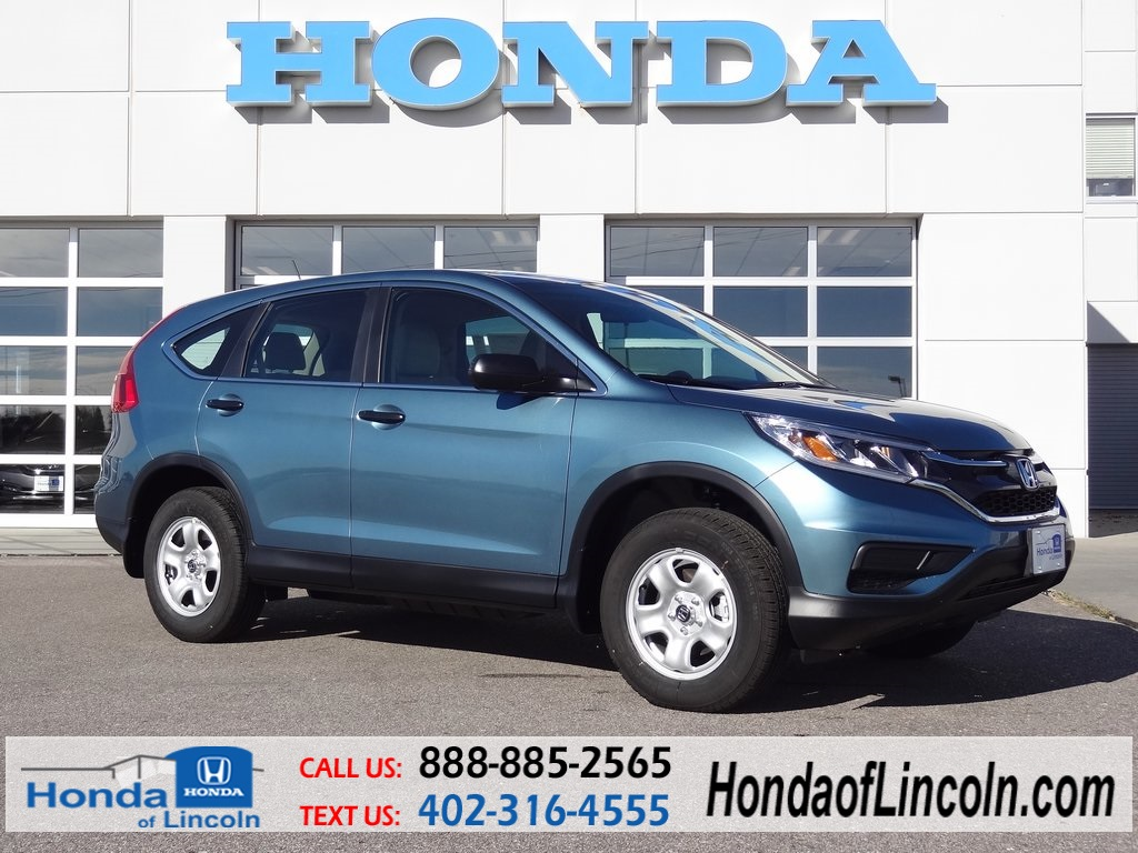 new 2015 honda cr v lx 4d sport utility near omaha d2274 honda of lincoln. Black Bedroom Furniture Sets. Home Design Ideas